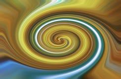 Círculos abstractos del fondo del bokeh, azules y amarillos, color brillante Imagenes de archivo