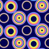 Círculos abstratos Imagens de Stock Royalty Free