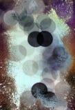 Círculos abstratos fundo textured fotos de stock royalty free