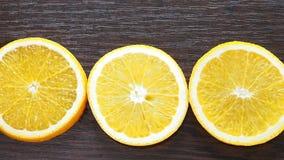 Círculos anaranjados apetitosos