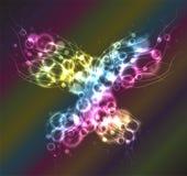 Mariposa del plasma Imágenes de archivo libres de regalías