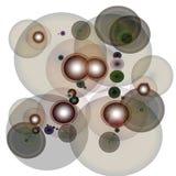 Círculos atados con alambre imágenes de archivo libres de regalías