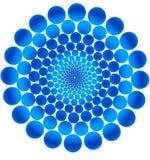 Círculos azules. Imagen de archivo libre de regalías