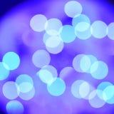 Círculos azules abstractos Vector stock de ilustración