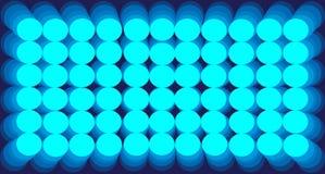 Círculos azules de la pendiente del fondo del extracto stock de ilustración