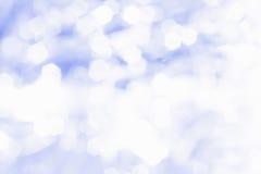 Círculos azules del bokeh Fotos de archivo libres de regalías