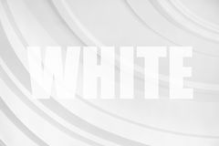 Círculos blancos abstractos Fotografía de archivo libre de regalías