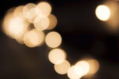 Círculos borrados Fotografia de Stock Royalty Free