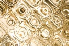 Círculos brilhantes abstratos da luz. Foto de Stock