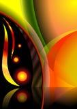 Círculos brillantes. ilustración del vector