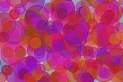Círculos brillantes como fondo Imagen de archivo libre de regalías