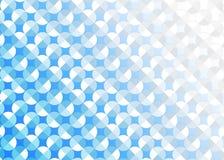 Círculos brillantes inconsútiles del extracto en fondo azul claro libre illustration
