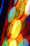 Círculos chispeantes Fotos de archivo