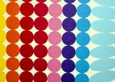 Círculos coloridos Imagem de Stock Royalty Free