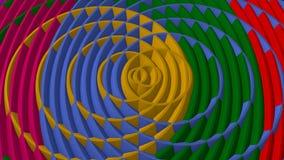 Círculos coloridos de cruzamento Foto de Stock Royalty Free