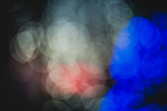 Círculos coloridos del bokeh abstracto ligero Foto de archivo