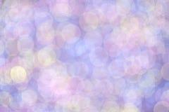 Círculos coloridos românticos abstratos do bokeh para o fundo Foto de Stock Royalty Free