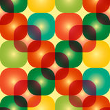 Círculos coloridos textura abstrata, fundo Imagens de Stock Royalty Free