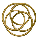 Círculos concéntricos Fotografía de archivo