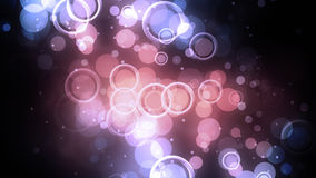 Círculos concêntricos cor-de-rosa Fotografia de Stock Royalty Free