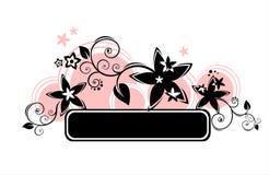 Círculos cor-de-rosa ilustração stock