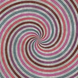 círculos, curvas e espirais Redemoinho-dados forma, projeto gráfico Textura espiral Imagem de Stock