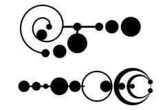 Círculos da colheita ilustração do vetor