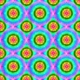 Círculos da energia com teste padrão vibrante das cores imagens de stock royalty free