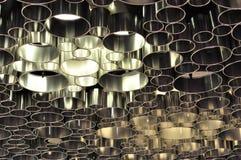 Círculos da luz Fotos de Stock