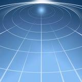 Círculos da luz no espaço ilustração stock