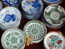 Círculos da porcelana Fotos de Stock