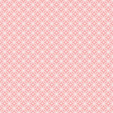Círculos de bloqueio do teste padrão cor-de-rosa com corações ilustração stock