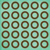 Círculos de Brown en fondo del trullo Imágenes de archivo libres de regalías