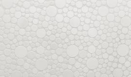 Círculos de cerámica de diversos tamaños el fondo imagen de archivo libre de regalías