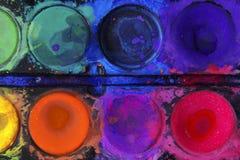 Círculos de color Foto de archivo libre de regalías