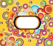 Círculos de cor Imagem de Stock