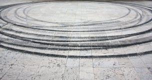 Círculos de la desviación Fotografía de archivo