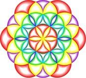 Círculos de la matemáticas Imagenes de archivo