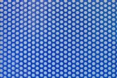 Círculos de la red del fondo del metal fotografía de archivo