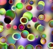 Círculos de Retr Imagem de Stock