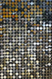 Círculos del metal Foto de archivo