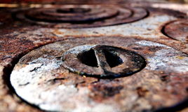 Círculos del moho Fotos de archivo