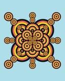 Círculos del vector Foto de archivo libre de regalías
