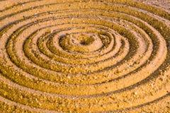 Círculos del zen Foto de archivo libre de regalías
