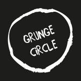 Círculos dibujados mano del grunge libre illustration