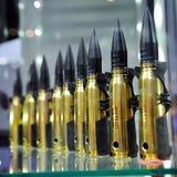 círculos do calibre de 20mm em Singapore Airshow Fotografia de Stock Royalty Free