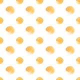 Círculos do fundo do ouro Fotografia de Stock Royalty Free