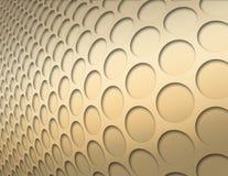 Círculos do ouro Fotografia de Stock Royalty Free