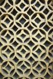 Círculos do teste padrão da parede Imagem de Stock Royalty Free
