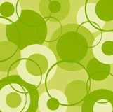 Círculos do verde-lima Fotos de Stock Royalty Free
